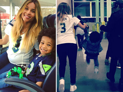 Ciara Fires Back at Future with Photo of Baby Future after Seahawks Game (PHOTO)