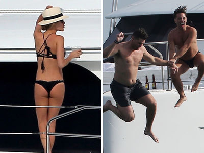 Kristin Cavallari's Teeny Bikini Booze Cruise ... With Jay Cutler (PHOTOS)