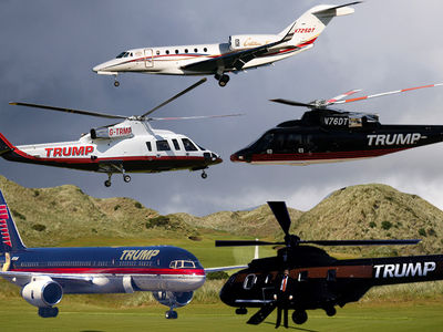 Trump's Jets & Choppers in Limbo