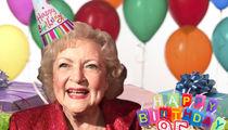 Betty White Celebrates 95th Birthday Working On Set