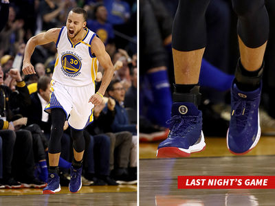 Steph Curry Rocks 'Obama Sneakers' to Dominate Cavs (PHOTOS)