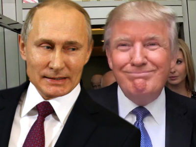 Vladimir Putin Shades Trump 'Dossier,' Brags About Russian Hookers