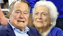 George H.W. Bush in ICU with Pneumonia, Barbara Also Hospitalized