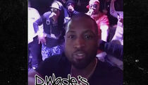 Dwyane Wade's Insane Surprise Bday Party ... Money, Stars, Chicken (VIDEO)