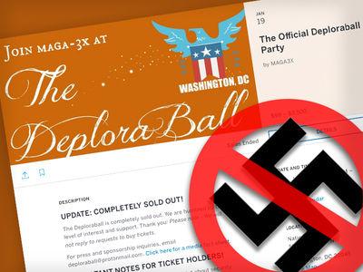 Trump Supporters Ban Nazi Salute at DeploraBall (PHOTO)