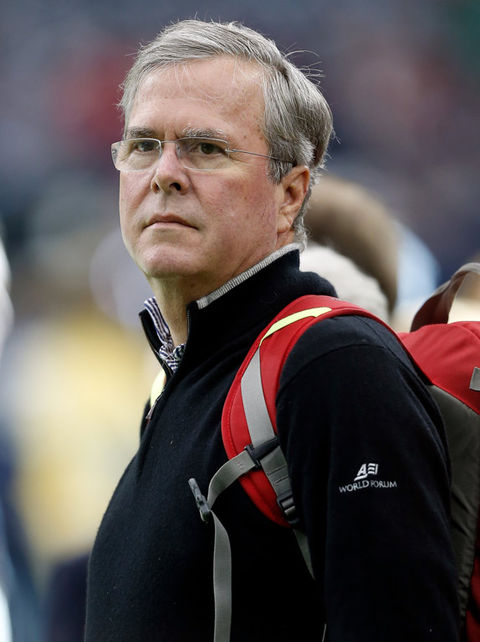 Jeb Bush is now 63 years old.
