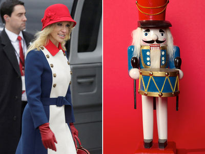 Kellyanne Conway's Inauguration Outfit is Revolutionary (PHOTOS)