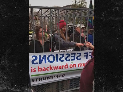 Free Weed Giveaway at Trump Inauguration (VIDEO + PHOTOS)