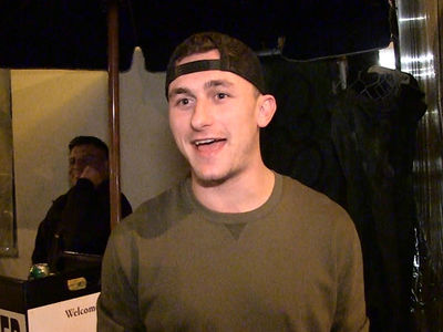 Johnny Manziel: Here's My Plan to NOT Be a Douche in 2017 (VIDEO)