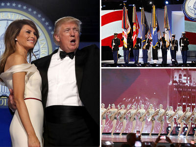 President Trump's Inaugural Balls (PHOTO GALLERY)