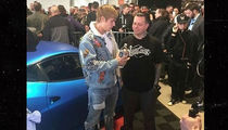 Justin Bieber's Bad-Luck Ferrari Sells at Auction