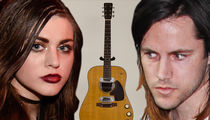 Frances Bean Cobain Gimme Back My Dad's Guitar, I'll Keep It Safe!