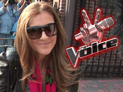 'The Voice' Wanted Celine Dion Full Time