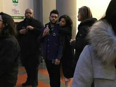 Selena Gomez & The Weeknd Pack On PDA in Italy (PHOTO)