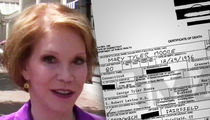 Mary Tyler Moore's Death Certificate Reveals Multiple Causes of Death (DOCUMENT)