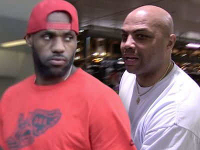 LeBron James Blasts Charles Barkley ... You're a Violent, Angry, Loser