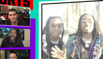 Migos Wants In On Super Bowl Halftime ... Gaga, Hit Us Up! (VIDEO)