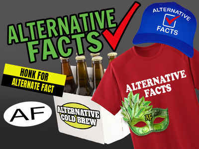 'Alternative Facts' Triggers Merchandise Frenzy