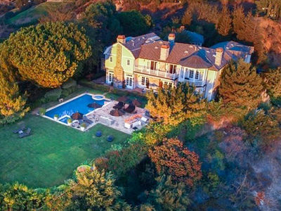 Jessica Alba's Dad Found Her a $10 Million Estate!!! (PHOTO GALLERY)