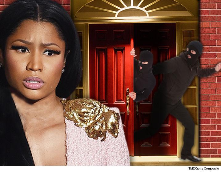 Delightful Nicki Minaju0027s House Hit In $200k Burglary