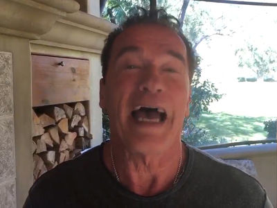Arnold Tells Trump, Let's Trade Jobs (VIDEO)