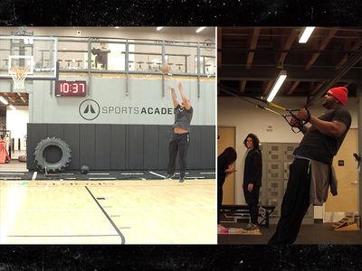 Glen Davis: Hardcore Training In L.A. ... For NBA Return (VIDEO)