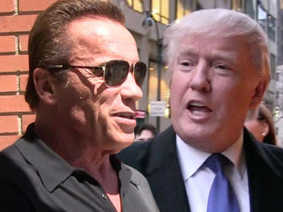 Arnold Schwarzenegger Fires Income Tax Shot Across Trump's Bow