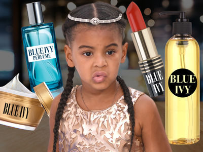Blue Ivy About To Launch Fragrance & Hair Care Line at Age 5!!!