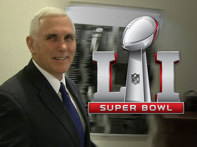 Vice Prez Mike Pence ... I'M GOING TO THE SUPER BOWL!