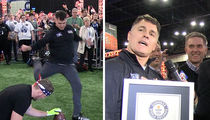 Adam Vinatieri Smashes Field Goal World Record (VIDEO)