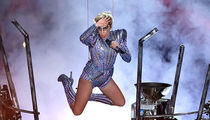 Lady Gaga Animated & Wired Up During Halftime Performance (PHOTO GALLERY)