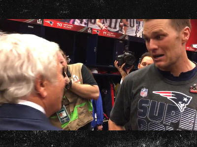 Tom Brady to Robert Kraft: 'Somebody Stole My Game Jersey' (VIDEO)