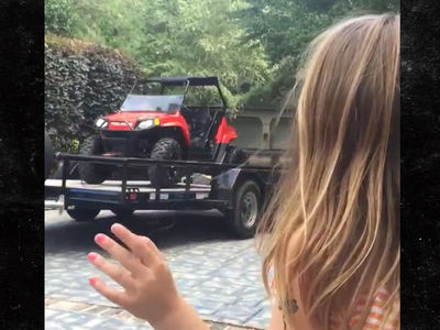 Jamie Lynn Spears' Daughter Maddie Got ATV for Birthday (VIDEO)