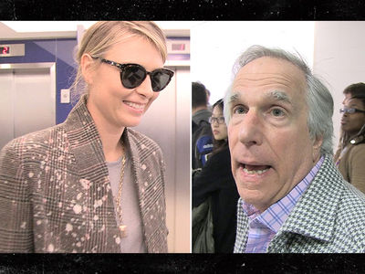 Maria Sharapova: Meet My New Publicist ... THE FONZ!! (VIDEO)