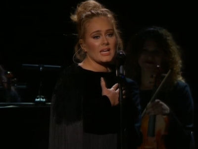 Adele Stops Her George Michael Performance (VIDEO)