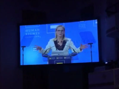 Meryl Streep Goes Into Trump Again At LGBT Gala (VIDEO)