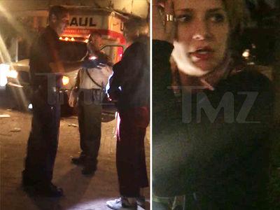 Mischa Barton Crashes U-Haul into New Apartment (VIDEO)
