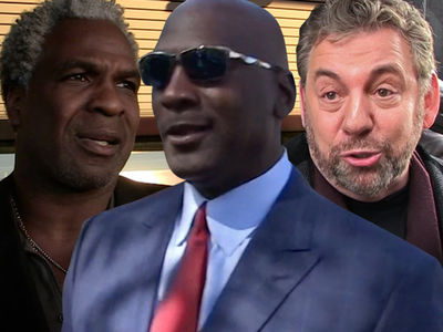 Michael Jordan Plays Peacemaker with Charles Oakley and Knicks Owner