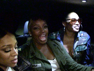 NeNe Leakes Fires Off Warning to 'RHOA' Castmates (VIDEO)