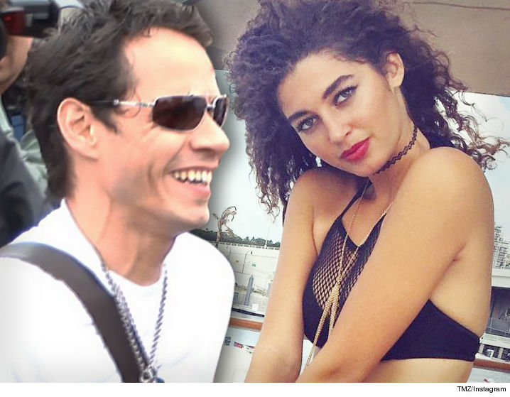 Marc anthony rebounds with 21 year old hot model tmz marc anthonys outdone himself again and wasted no time doing so he scored a model barely old enough to order jgerbombs even before his divorce was m4hsunfo