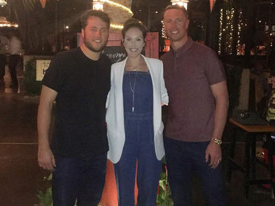 Matt Stafford Takes Couples Trip to Mexico ... Without Pregnant Wife (PHOTO)