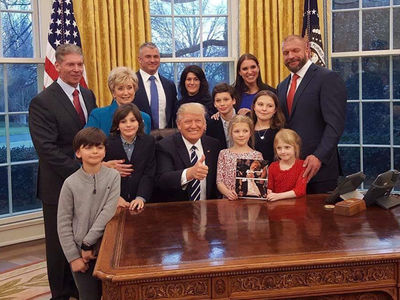 Vince McMahon Reminds Trump ... Memba When You Shaved My Head!? (PHOTO)