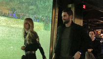 Kevin Love Tests Out Post-Surgery Knee ... Hits NYC With Model GF (VIDEO)