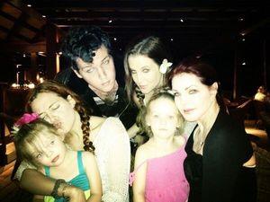 Lisa Marie Presley Family Photos