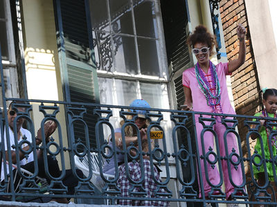 Beyonce, Jay Z and Solange Party Together in New Orleans (PHOTO GALLERY)