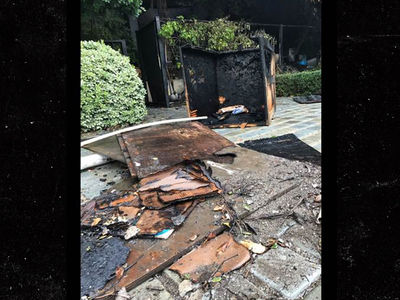 Ryan Seacrest's Mansion Catches Fire (PHOTO)
