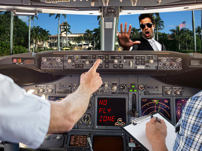 President Trump's Southern White House Sends Flight Schools Into Panic