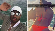 Dwyane Wade, Gabrielle Union & Chris Bosh Ditch All-Star Game For Miami Boat Trip (VIDEO + PHOTO)