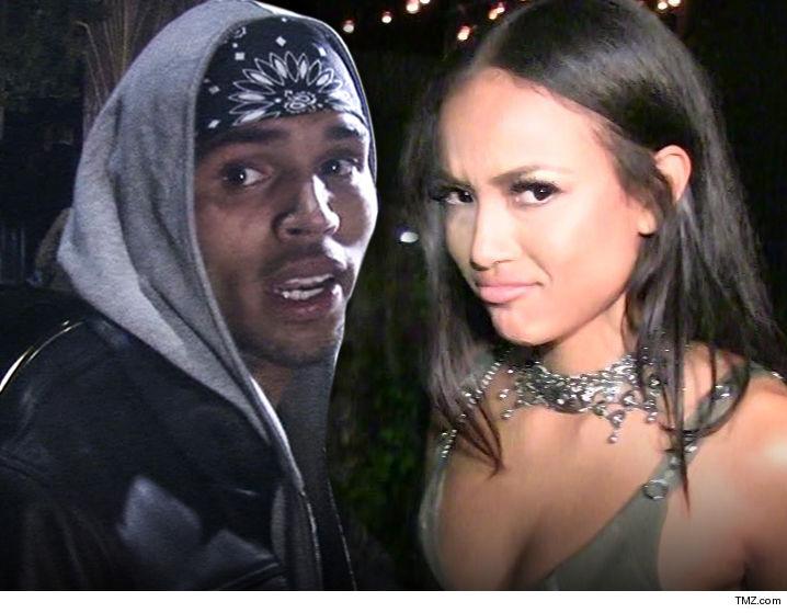 Chris Brown Karrueche Gets Restraining Order Says He Threatened To