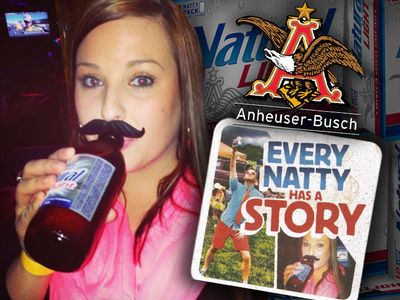 Beer Swilling Chick Sues Natty Light, Hands Off My Mug! (PHOTOS)